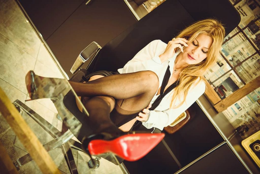 Mother, Wife and Secretary! #cinema #cinematography #cinematographer #cinematic #homecinema #photo #photos #pic #pics #picture #pictures #snapshot #art #beautiful #color #all_shots #exposure #composition #focus #capture #moment #shoes #stocking #legs #erotic #secretary #necktie #clock #newspaper #design