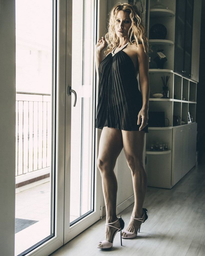 """Beauty at the Window"" with @agathadevil shoes @lesilla #legs #longlegs #longhair #shoes #shoesaddict #shoeslover"